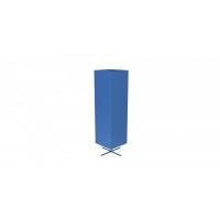 Stand rotativ simplu rectangular tabla perforata