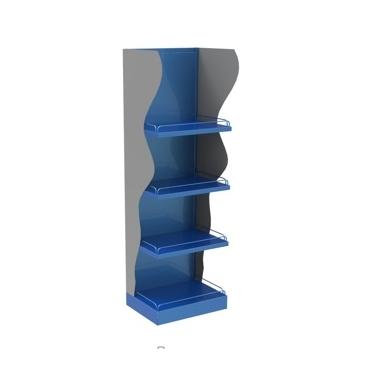 Stand mixt cu model lateral si raft tabla