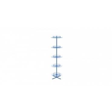 Stand rotativ circular cu carlige simple